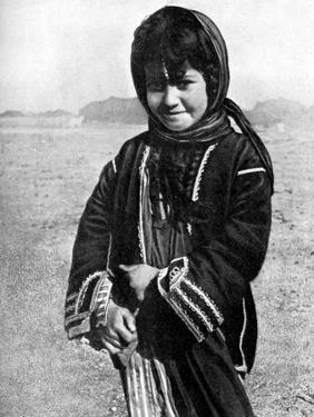 Bedouin Girl in the Syrian Desert, 1936 by HJ Shepstone