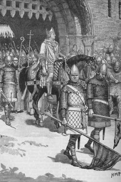 Departure of Bishop Odo from Rochester, 1088 by HMP