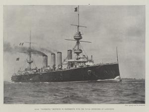 HMS Powerful Returned to Portsmouth with the Naval Defenders of Ladysmith