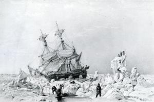 HMS Terror Held on Ice, 1836