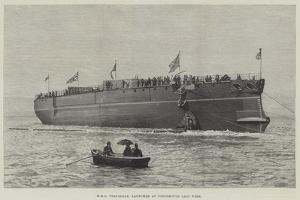 HMS Trafalgar, Launched at Portsmouth Last Week