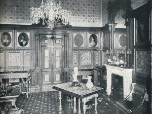 The Queens Private Audience Chamber at Windsor Castle, c1899, (1901) by HN King