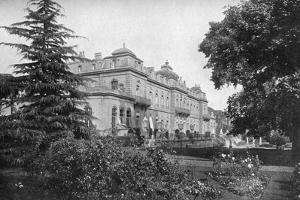 Wrest Park from the South-West, Silsoe, Bedfordshire, 1924-1926 by HN King