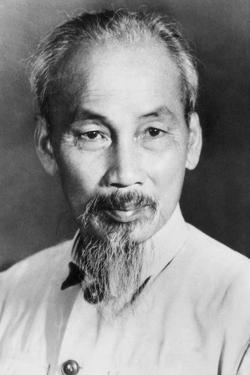 Ho Chi Minh, Vietnamese Prime Minister and President of the Democratic Republic of Vietnam