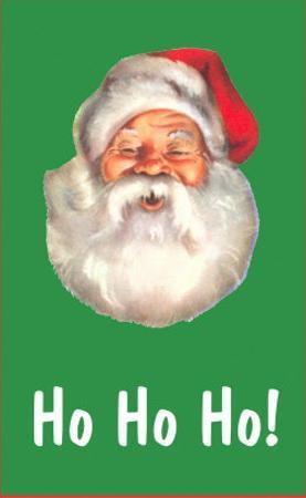 Ho Ho Ho, Santa Claus Face