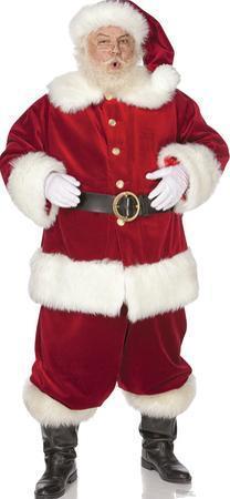 Ho! Ho! Santa Lifesize Standup