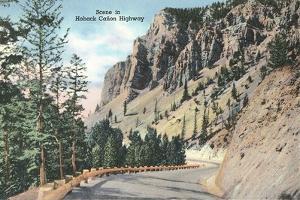Hoback Canyon Highway
