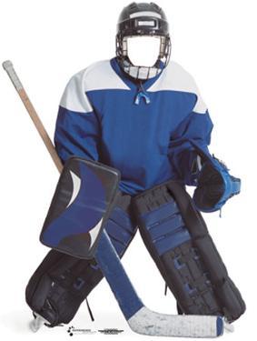 Hockey Boy Lifesize Stand-In
