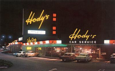 Hody's Drive-In, Roadside Retro
