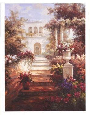 Le Jardin De Printemps I by Hoffman