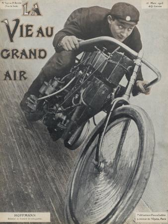 Hoffmann French Motor Cycling Champion