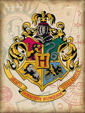 Hogwarts Crest Tin Sign