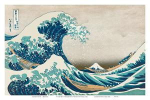 The Great Wave off Kanagawa - Mount Fuji by Hokusai