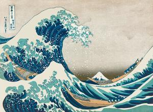 The Great Wave off Kanagawa - Mount Fuji by Hokusai