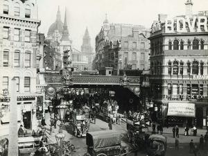 Holborn Viaduct, London, C 1900