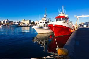 Gandia Port Puerto Valencia in Sunset Mediterranean Spain by holbox