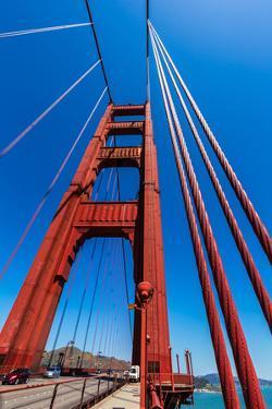 Golden Gate Bridge Details in San Francisco California USA by holbox