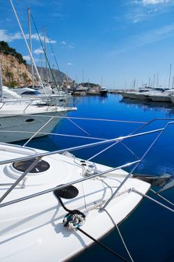 Moraira Alicante Marina in Mediterranean Sea of Spain by holbox
