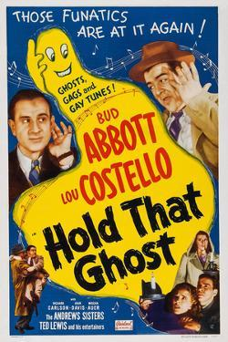 Hold That Ghost, 1941