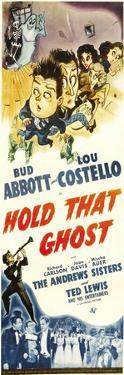 Hold That Ghost, Lou Costello, Bud Abbott, Andrews Sisters, 1941