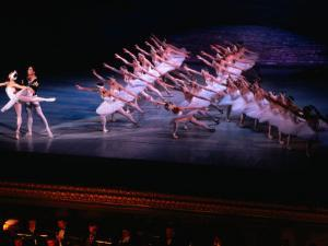 Ballet, Swan Lake Performance, Odesa Opera House, Odesa, Ukraine by Holger Leue