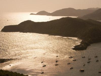 English Harbour at Sunset from Shirley Heights, English Harbour, Antigua & Barbuda by Holger Leue