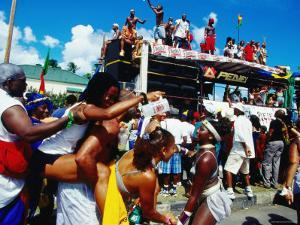 Grand Kadooment Day Crop-Over Festival, Bridgetown by Holger Leue
