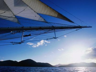 Horizon Seem from Bowsprit Net Star Clipper, Tortola