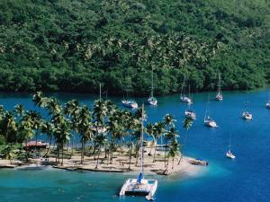 Marigot Bay, St. Lucia by Holger Leue