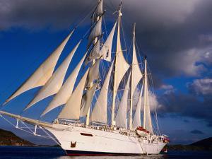 Star Clipper Under Full Sail by Holger Leue