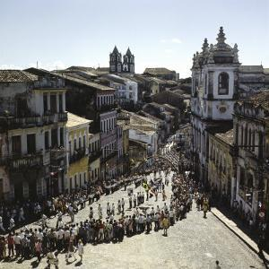 Holiday Festival Pelourinho District Bahia, Salvador, Brazil