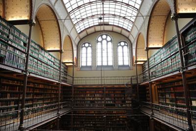 Holland, Amsterdam, Rijksmuseum, Library
