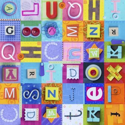 Alphabet Collage (Repeat) by Holli Conger