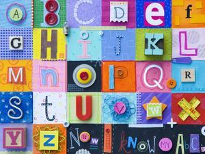 Alphabet Collage by Holli Conger