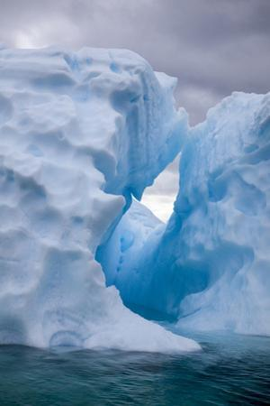 Antarctica, Lemaire Channel, iceberg in the Lemaire Channel by Hollice Looney