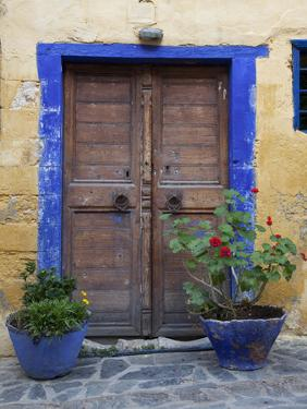 Greece, Crete, Chania. Doorway by Hollice Looney