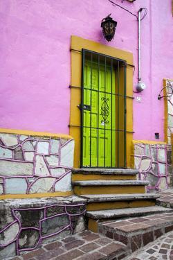Mexico, Guanajuato, House in Guanajuato by Hollice Looney
