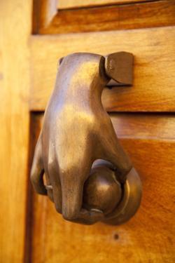 Mexico, San Miguel de Allende, doorknocker by Hollice Looney