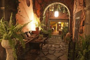 Mexico, San Miguel de Allende, quaint alleyway by Hollice Looney