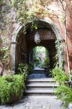 Mexico, San Miguel de Allende, Street archway. by Hollice Looney