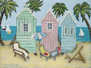 At the Beach I by Holly Wojahn