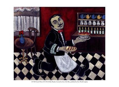 French Waiter II