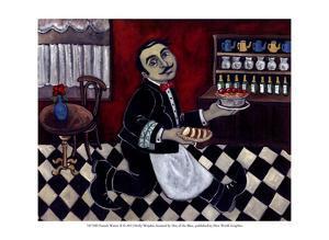 French Waiter II by Holly Wojahn