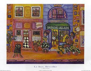 La Rue Reveiller by Holly Wojahn