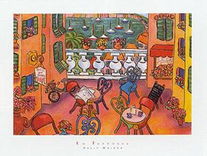 La Terrasse by Holly Wojahn