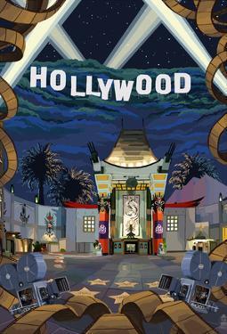 Hollywood, California Scenes