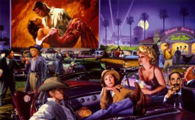 Hollywood Drive-In - George Bungarda
