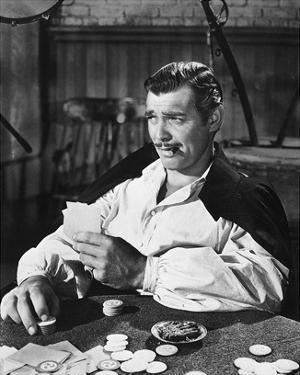 Clark Gable 1939 Gone with the Wind by Hollywood Historic Photos