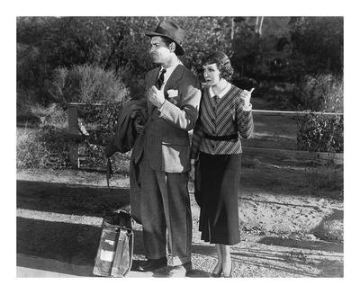 Clark Gable and Claudette Colbert 1934 'It Happened One Night'