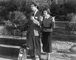 Clark Gable and Claudette Colbert 1934 'It Happened One Night' by Hollywood Historic Photos